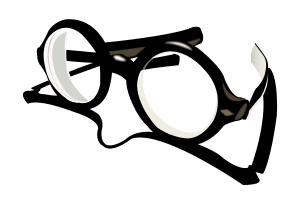 black_glasses